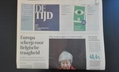 De tijd krant