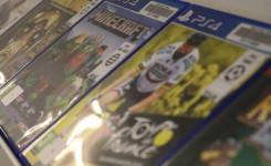 foto games collectie kast