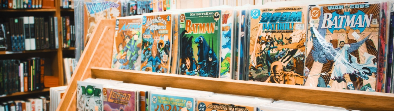 Strips, comics en graphic novels