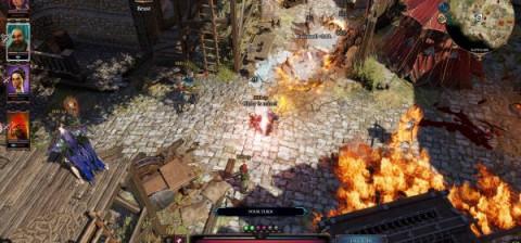 screenschot van de game divinity